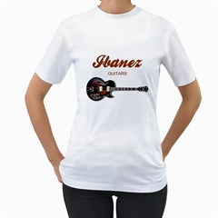 Ibanez Electric Guitars Women s T Shirt (white)