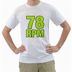 78 Rpm  Lemon Men s T Shirt (white)