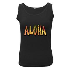 Aloha Decoration Women s Tank Top (black)