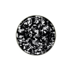 Shades Of Gray  And Black Oils #1979 Golf Ball Marker (for Hat Clip)