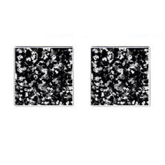 Shades Of Gray  And Black Oils #1979 Cufflinks (square)