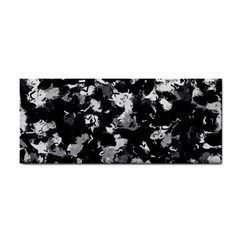 Shades Of Gray  And Black Oils #1979 Hand Towel
