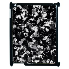 Shades Of Gray  And Black Oils #1979 Apple Ipad 2 Case (black)