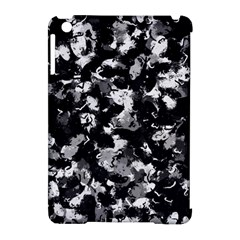 Shades Of Gray  And Black Oils #1979 Apple Ipad Mini Hardshell Case (compatible With Smart Cover)
