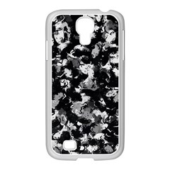 Shades Of Gray  And Black Oils #1979 Samsung GALAXY S4 I9500/ I9505 Case (White)