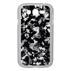Shades Of Gray  And Black Oils #1979 Samsung Galaxy Grand DUOS I9082 Case (White)