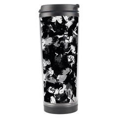 Shades Of Gray  And Black Oils #1979 Travel Tumbler