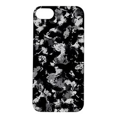 Shades Of Gray  And Black Oils #1979 Apple Iphone 5s Hardshell Case