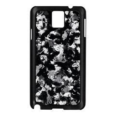 Shades Of Gray  And Black Oils #1979 Samsung Galaxy Note 3 N9005 Case (Black)