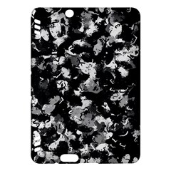 Shades Of Gray  And Black Oils #1979 Kindle Fire HDX Hardshell Case