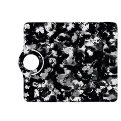 Shades Of Gray  And Black Oils #1979 Kindle Fire HDX 8.9  Flip 360 Case