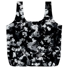 Shades Of Gray  And Black Oils #1979 Reusable Bag (XL)