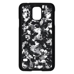 Shades Of Gray  And Black Oils #1979 Samsung Galaxy S5 Case (Black)
