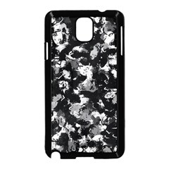 Shades Of Gray  And Black Oils #1979 Samsung Galaxy Note 3 Neo Hardshell Case (Black)