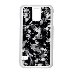 Shades Of Gray  And Black Oils #1979 Samsung Galaxy S5 Case (white)