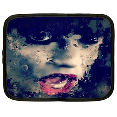Abstract Grunge Jessie J  Netbook Sleeve (large)