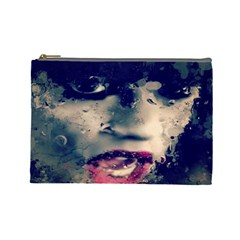Abstract Grunge Jessie J  Cosmetic Bag (large)