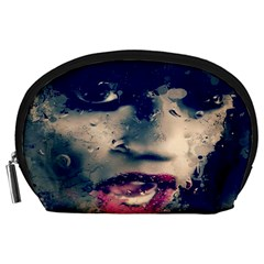Abstract Grunge Jessie J  Accessory Pouch (large)