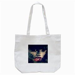 Abstract Grunge Jessie J  Tote Bag (White)