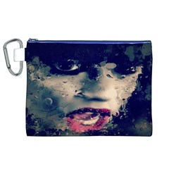 Abstract Grunge Jessie J  Canvas Cosmetic Bag (XL)
