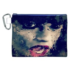 Abstract Grunge Jessie J  Canvas Cosmetic Bag (XXL)
