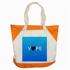 Vape Heart  Accent Tote Bag