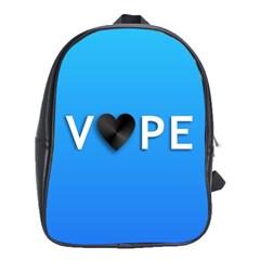 Vape Heart  School Bag (xl)