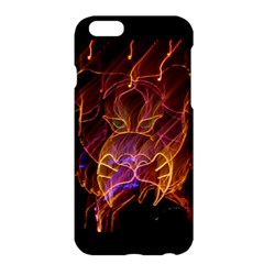 electric tiger by saprillika Apple iPhone 6 Plus Hardshell Case