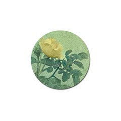 Yellow Rose Vintage Style  Golf Ball Marker 10 Pack