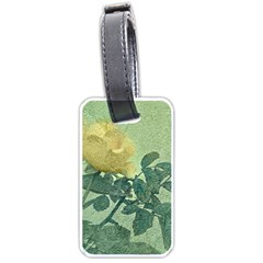 Yellow Rose Vintage Style  Luggage Tag (one Side)