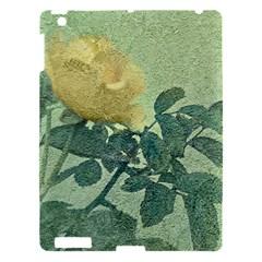 Yellow Rose Vintage Style  Apple Ipad 3/4 Hardshell Case