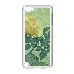 Yellow Rose Vintage Style  Apple iPod Touch 5 Case (White)