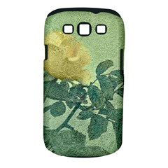 Yellow Rose Vintage Style  Samsung Galaxy S III Classic Hardshell Case (PC+Silicone)