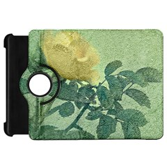 Yellow Rose Vintage Style  Kindle Fire Hd Flip 360 Case