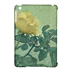 Yellow Rose Vintage Style  Apple iPad Mini Hardshell Case (Compatible with Smart Cover)