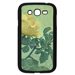 Yellow Rose Vintage Style  Samsung Galaxy Grand Duos I9082 Case (black)