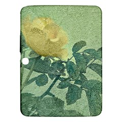 Yellow Rose Vintage Style  Samsung Galaxy Tab 3 (10 1 ) P5200 Hardshell Case