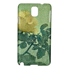 Yellow Rose Vintage Style  Samsung Galaxy Note 3 N9005 Hardshell Case