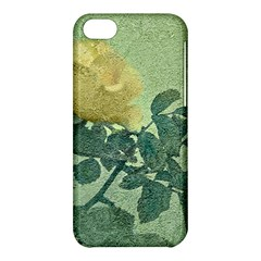 Yellow Rose Vintage Style  Apple Iphone 5c Hardshell Case