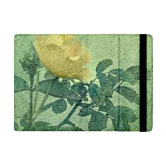 Yellow Rose Vintage Style  Apple Ipad Mini 2 Flip Case