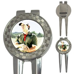 Rory Mcilroy Golf Pitchfork & Ball Marker