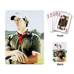 Rory Mcilroy Playing Cards Single Design