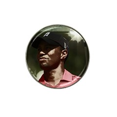 Tiger Woods Png Golf Ball Marker (for Hat Clip)