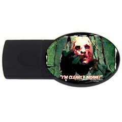 Bloody Face  2gb Usb Flash Drive (oval)