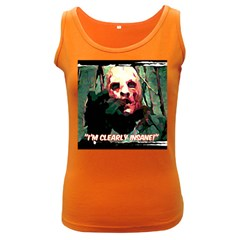 Bloody Face  Women s Tank Top (dark Colored)