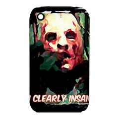 Bloody Face  Apple Iphone 3g/3gs Hardshell Case (pc+silicone)