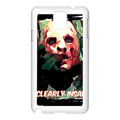 Bloody Face  Samsung Galaxy Note 3 N9005 Case (White)