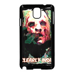 Bloody Face  Samsung Galaxy Note 3 Neo Hardshell Case (Black)