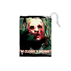 Bloody Face  Drawstring Pouch (Small)