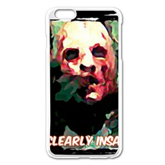 Bloody Face  Apple iPhone 6 Plus Enamel White Case